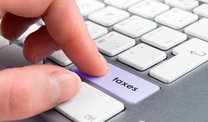 Taxation des achats en ligne